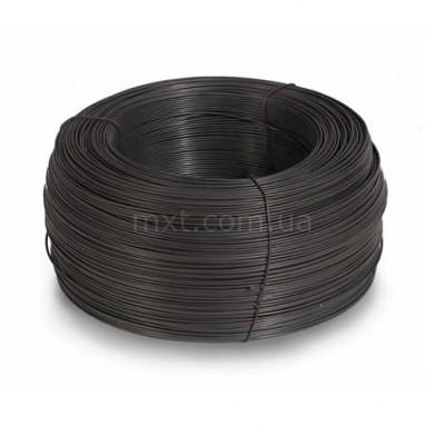 Проволока вязальная чёрная Ø1,2 мм