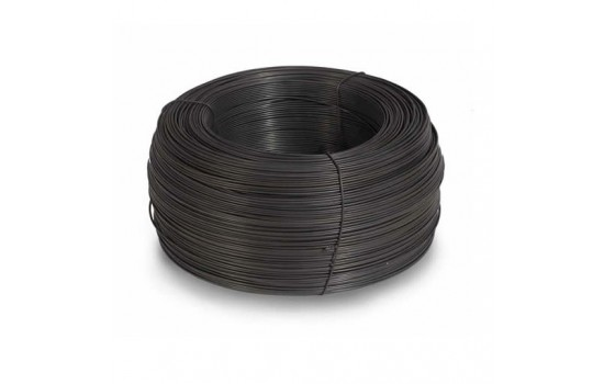 Проволока вязальная чёрная Ø1,2 мм (3кг/бухта)