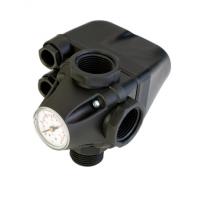 Штуцер с реле и манометром italtecnica PM 5 3W MFF