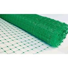 Сетка огуречная рулон 2х10м яч.130х150 мм, зеленая, толщ. 0,6 мм