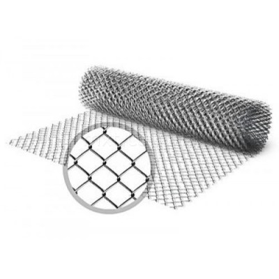 Сетка Рабица 1,5х10 м Ø1,6 мм (яч.35х35) цинк