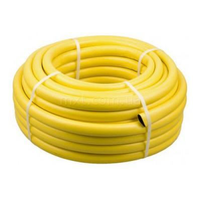"""Шланг для полива 3-х слойный 1"""", армированный желтый КИ-16 (20м)"""