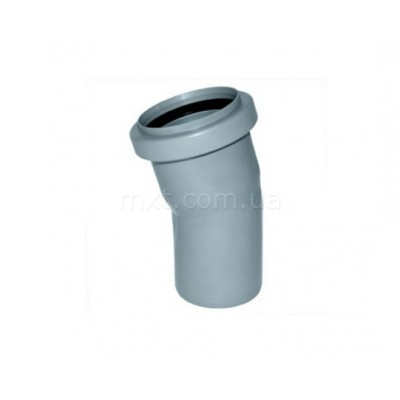 Колено канализационное EuroPlast 110/20