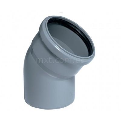 Колено канализационное EuroPlast 110/30
