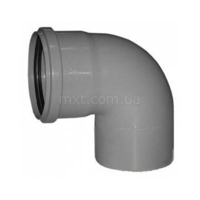 Колено канализационное EuroPlast 110/90