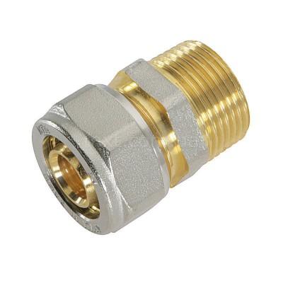 Муфта 16-½ внешняя резьба ТМ prof для металлопластиковых труб
