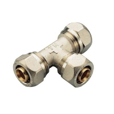 Тройник 16-16-16 для металлопластиковых труб ТМ prof
